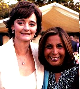 Nighat Awan with Cherie Blair